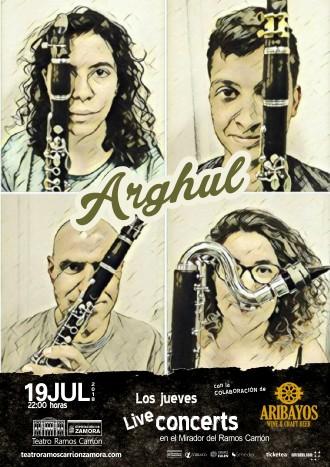 Arghul concierto en el Mirador