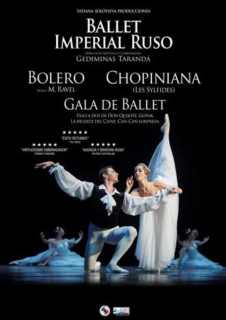 Chopiniana y Bolero - Ballet Imperial Ruso