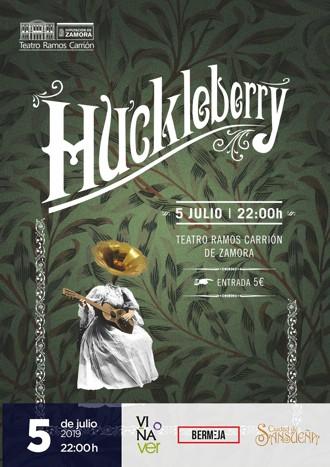 Huckleberry en concierto