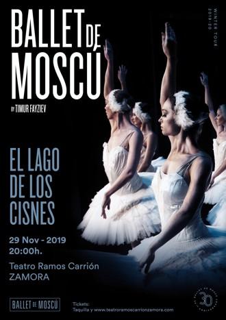 El lago de los cisnes - Ballet de Moscú