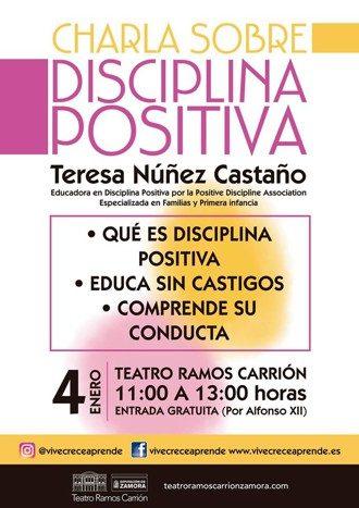 Charla sobre disciplina positiva