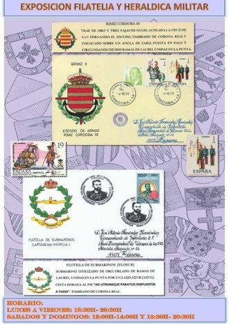 Exposición Filatelia y Heráldica militar