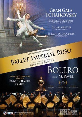 Gran Gala Tchaikovsky+Bolero - Ballet Imperial Ruso
