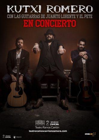 Kutxi Romero en concierto