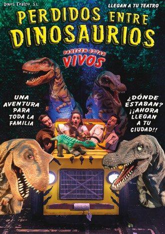 Perdidos entre dinosaurios