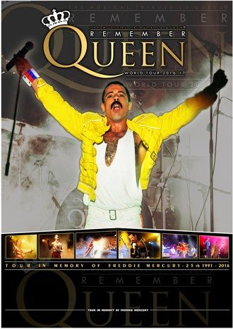 Remember Queen - Spanish Tour 2017