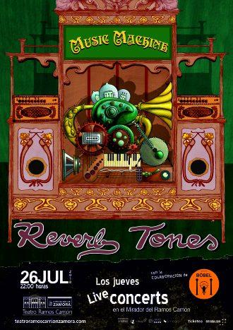 Reverb Tones concierto en el Mirador