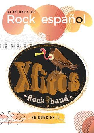 Xfitos Rock Band en concierto